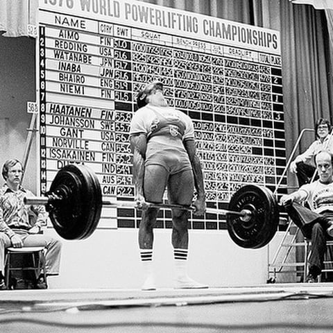 The History Of Powerlifting Taylor S Strength Training